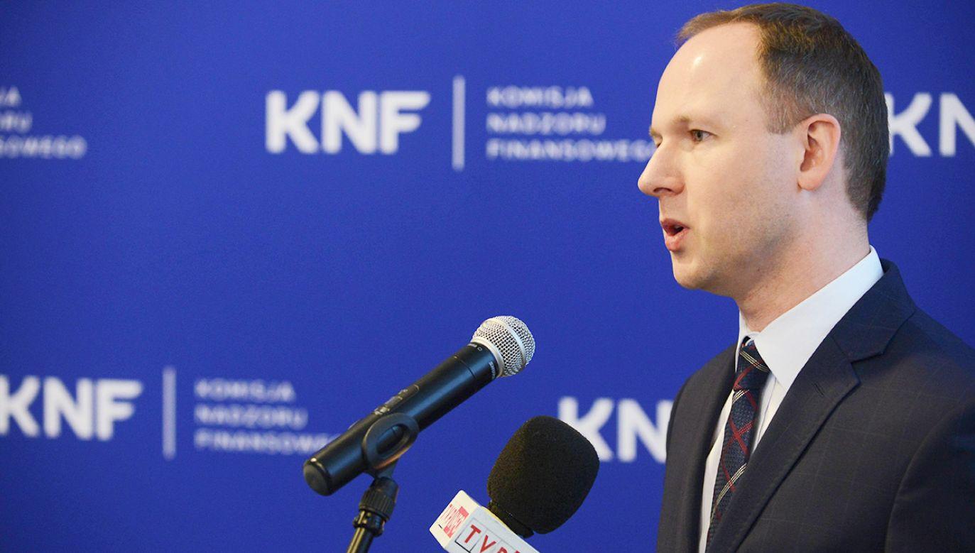 Były przewodniczący KNF Marek Chrzanowski (fot. arch.PAP/Jakub Kamiński)
