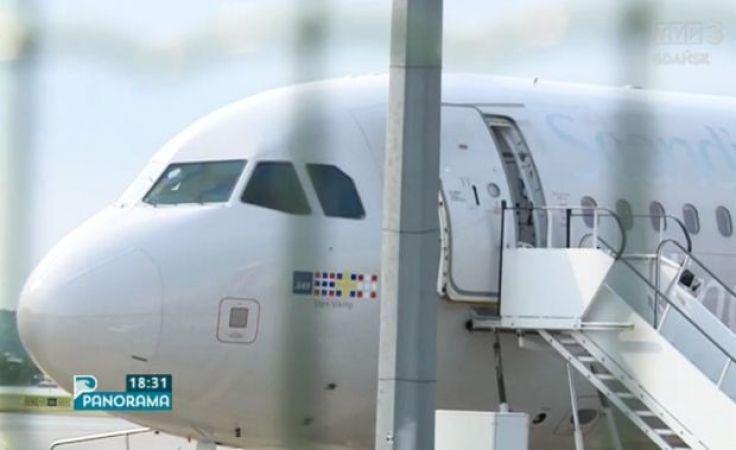 Awaryjne lądowanie i ewakuacja na gdańskim lotnisku