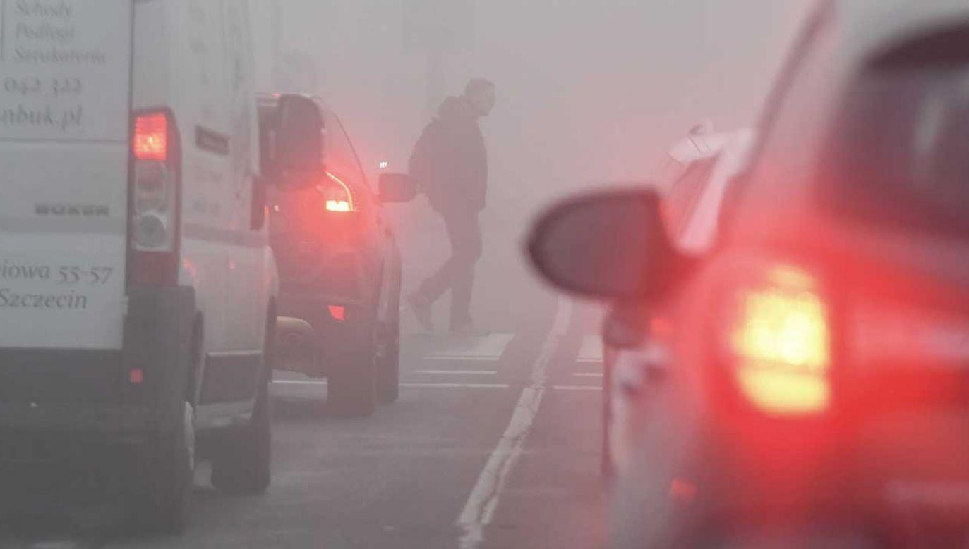 IMGW ostrzega trzy województwa przed oblodzeniem (fot. PAP/Marcin Bielecki)