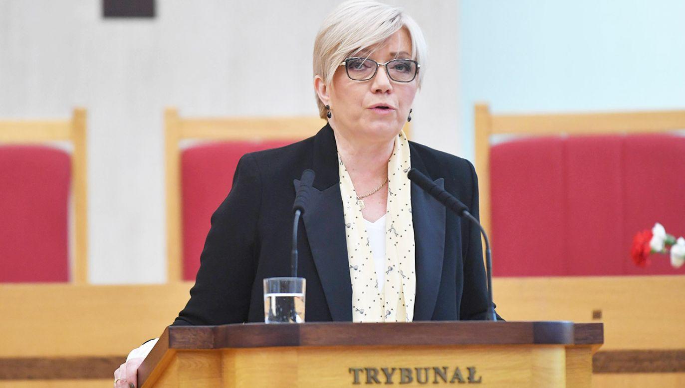 Prezes TK podkreślała konieczność walki z nierównościami ekonomicznymi (fot. arch.PAP/Bartłomiej Zborowski)