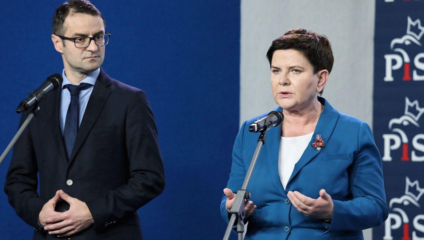 Najwięcej głosów zdobył Tomasz Poręba – 276 tysięcy (fot. PAP/Tomasz Gzell)