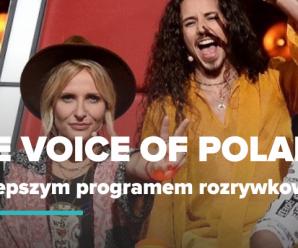 The Voice of Poland najlepszym programem rozrywkowym!
