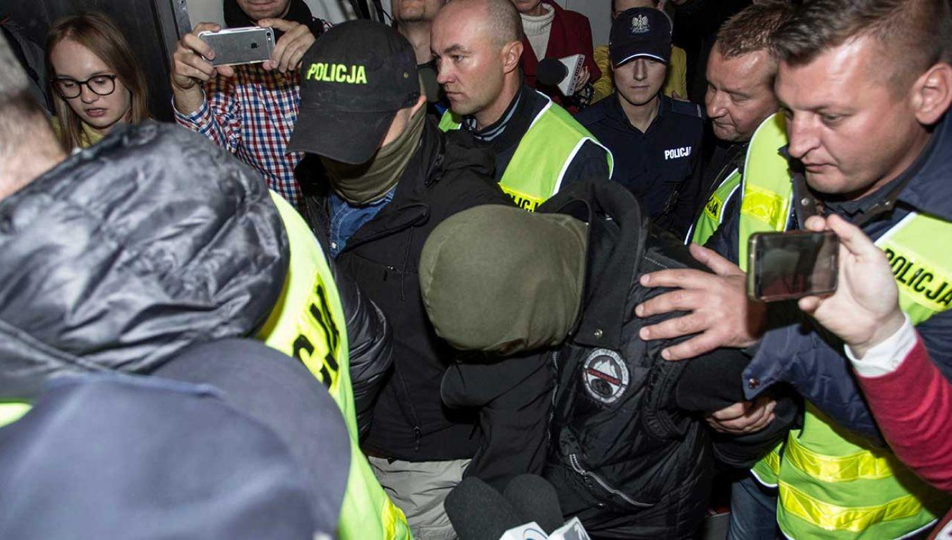 Norbert B. jest podejrzany o dokonanie zbrodni w Miłoszycach w noc sylwestrową 1996 r., za którą pierwotnie został niesłusznie skazany Tomasz Komenda (fot. arch. PAP/Aleksander Koźmiński)