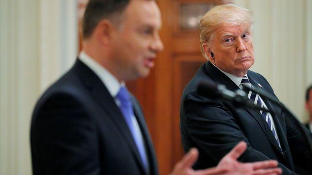"""Polska i USA mają wspólną listę zagrożeń.""(fot. REUTERS/Brian Snyder)"
