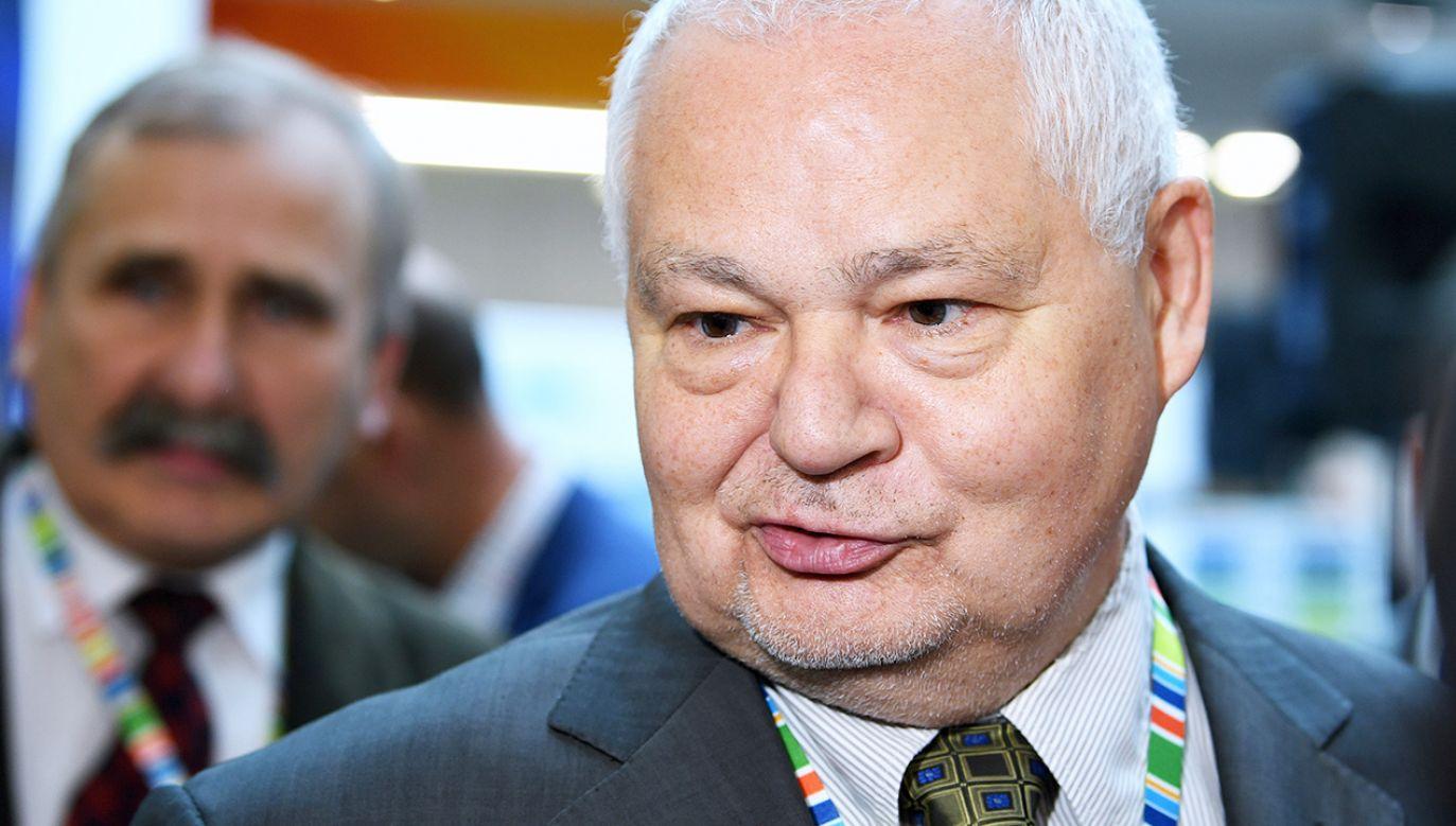Adam Glapiński, prezes NBP zapewnia, że klienci banków mogą być spokojni o swoje oszczędności (fot. PAP/Darek Delmanowicz)