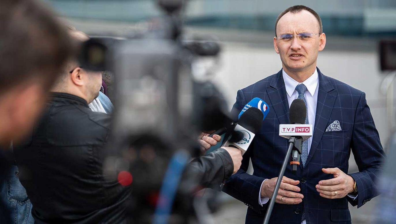 Rzecznik Praw Dziecka Mikołaj Pawlak (fot. PAP/Wojciech Pacewicz)
