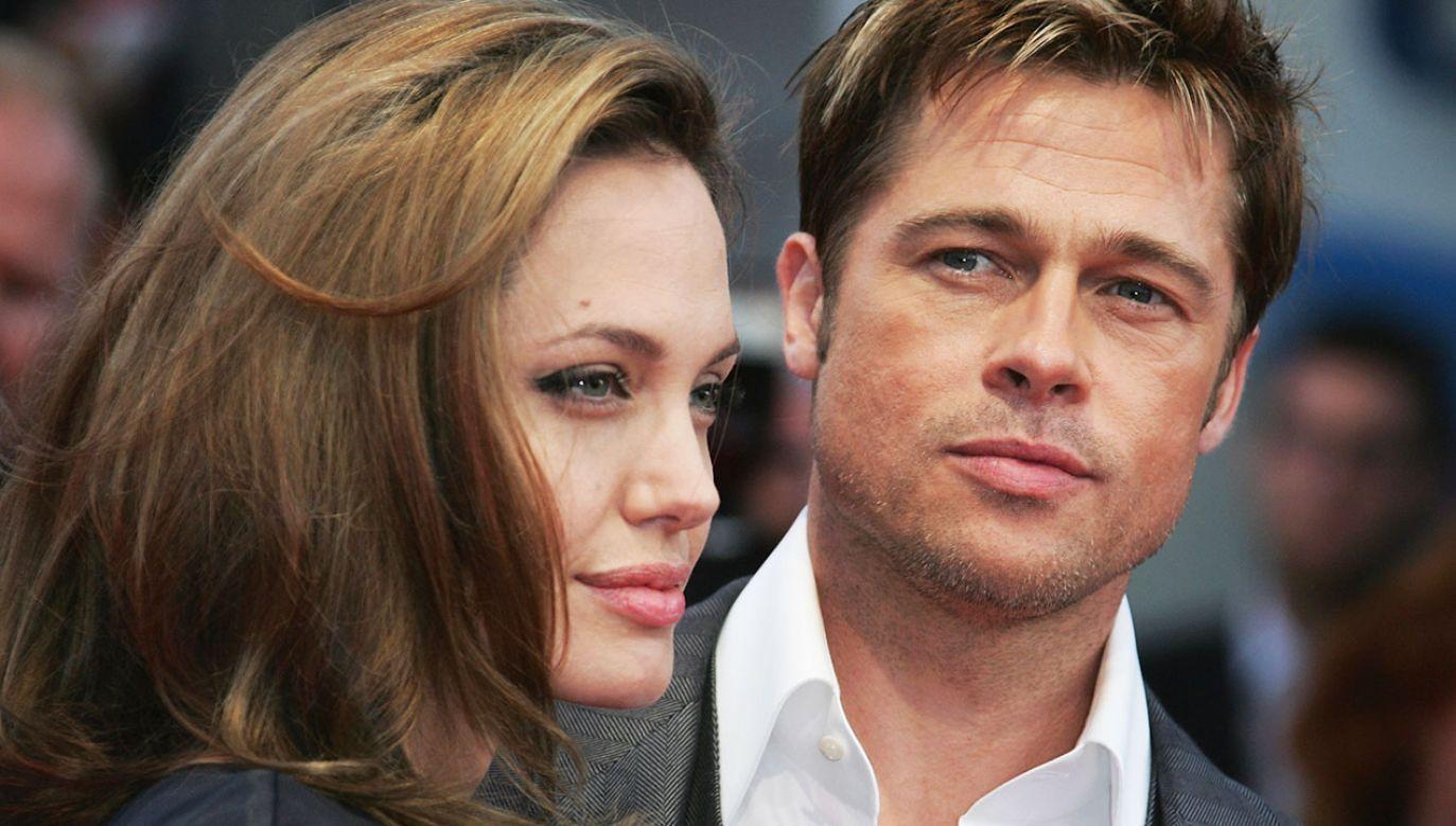 43-letnia obecnie Jolie i 55-letni Pitt pobrali się w 2014 r. (fot. Francois Durand/Getty Images)