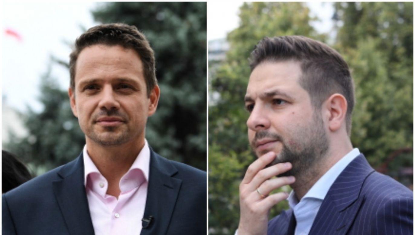 The opposition Civic Platform (PO) party's candidate for mayor of Warsaw, Rafał Trzaskowski (L) and the ruling Law and Justice (PiS) party candidate, Patryk Jaki (R). Photo: PAP/Bartłomiej Zborowski (L), PAP/Leszek Szymański(R)