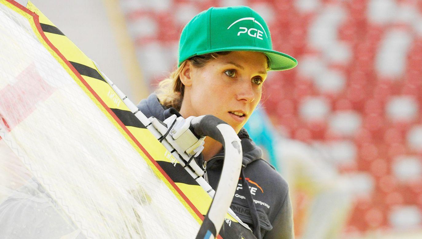 Zofia Klepacka jest mistrzynią świata w windsurfingu (fot. arch.PAP/Bartłomiej Zborowski)