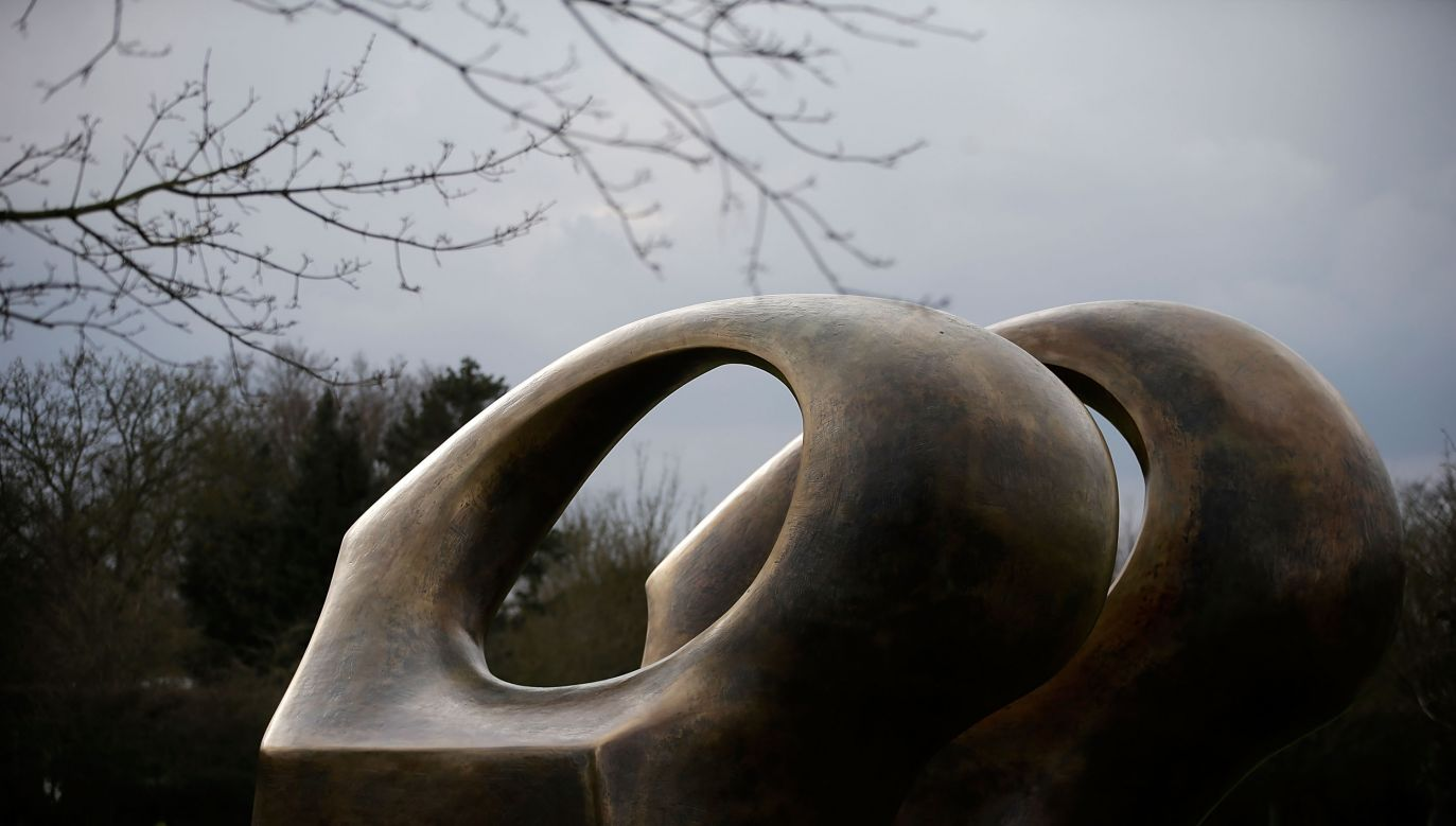 Sculpture at the Henry Moore Foundation, UK. Photo:  Matthew Lloyd/Getty Images
