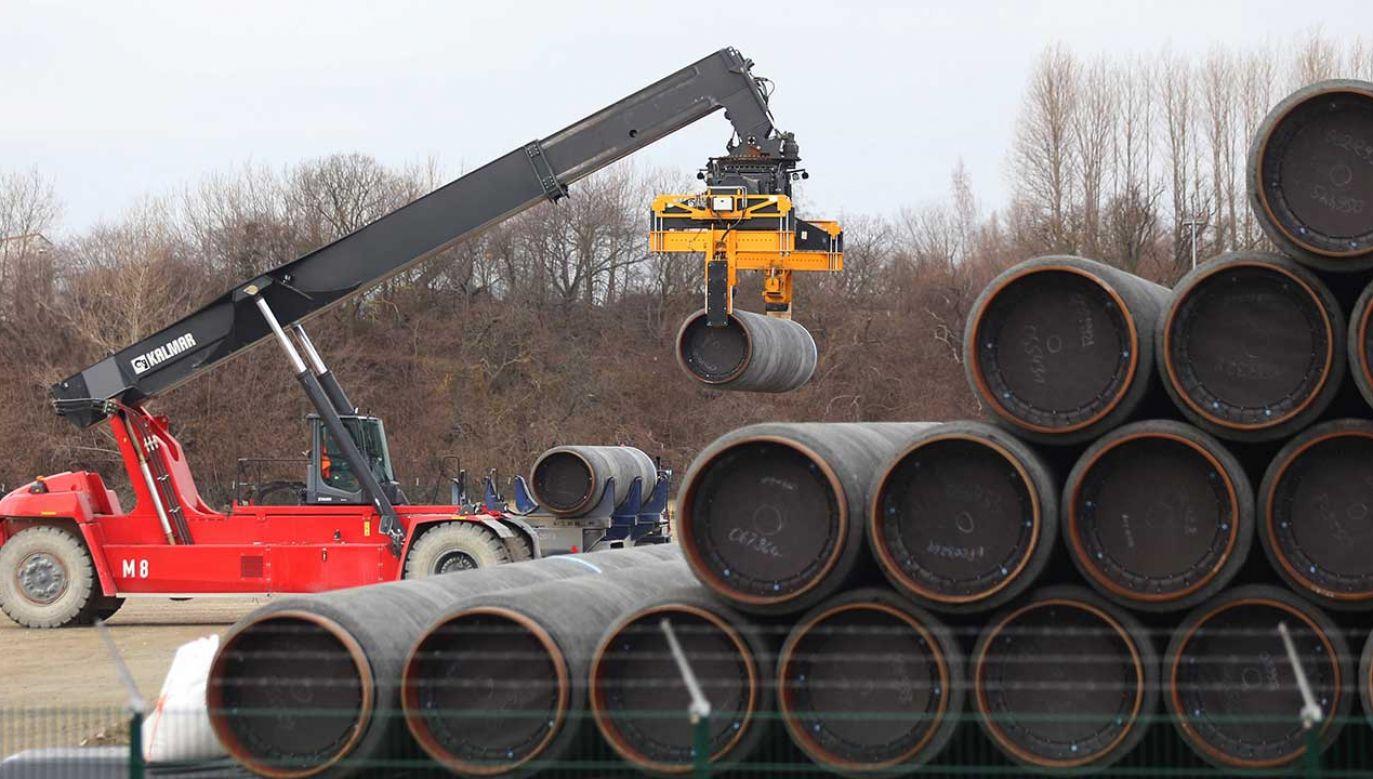 Przeciwne budowie Nord Stream 2 są m.in. Polska, kraje bałtyckie, Ukraina i USA (fot. arch. PAP/DPA/Danny Gohlke)