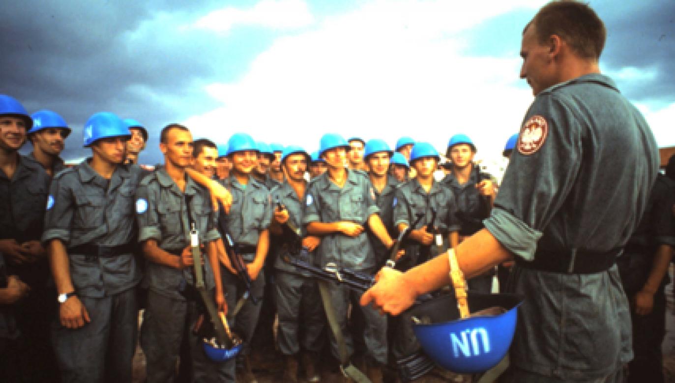 Polish UN mission in Cambodia. Photo: Stowarzyszenie Weteranów Polskiego Kontyngentu Wojskowego Tymczasowej Administracji ONZ w Kambodży 1992-1993