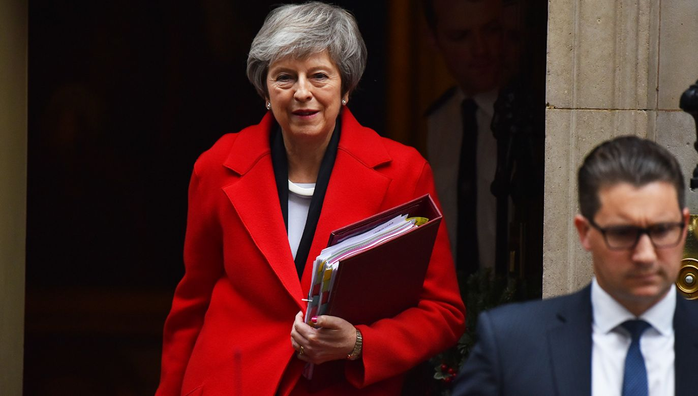 Sprzeciw wobec forsowanej przez premier umowy o brexicie zgłaszają i eurosceptycy, i euroentuzjaści (fot. Alberto Pezzali/NurPhoto via Getty Images)