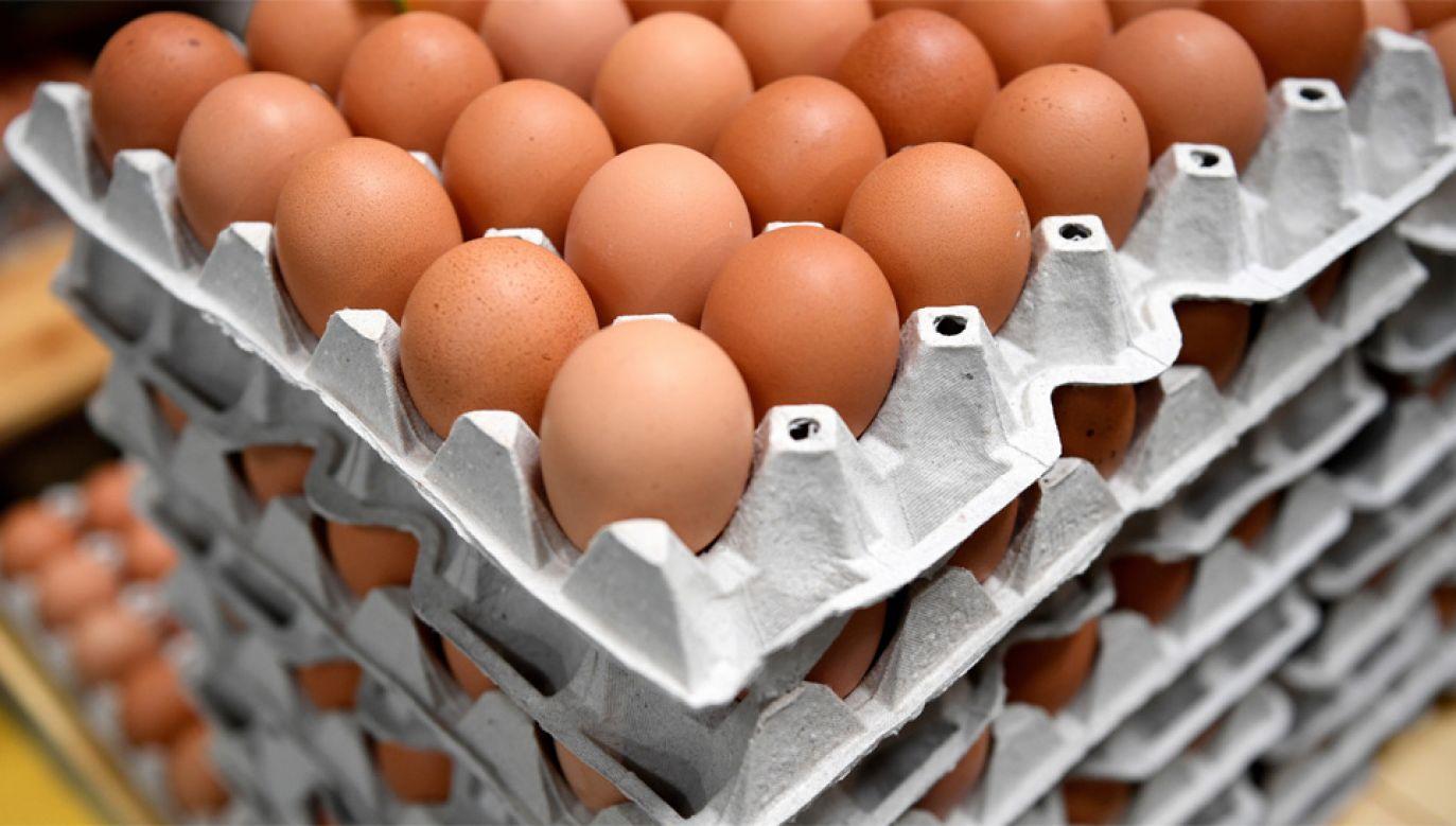 Za granicę trafia 35 proc. produkowanych w Polsce jaj (fot. PAP/Darek Delmanowicz)