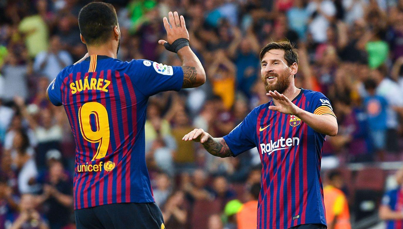 Barcelona dominuje w Hiszpanii. Czy w Europie kolejny raz będzie musiała uznaćwyższośćRealu? (fot. Getty)