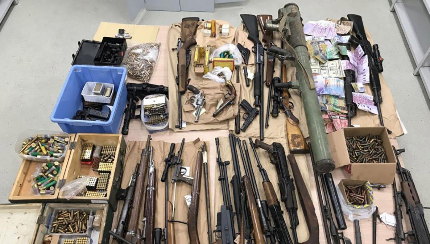 Broń przemycano z Chorwacji na północ Europy (fot. Materiały prasowe)