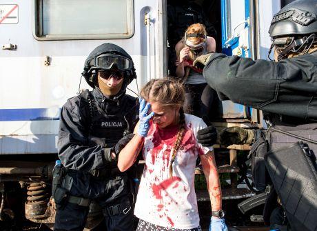 """Wrocławianie kontra terroryści. Ćwiczenia """"Kryzys'17"""""""