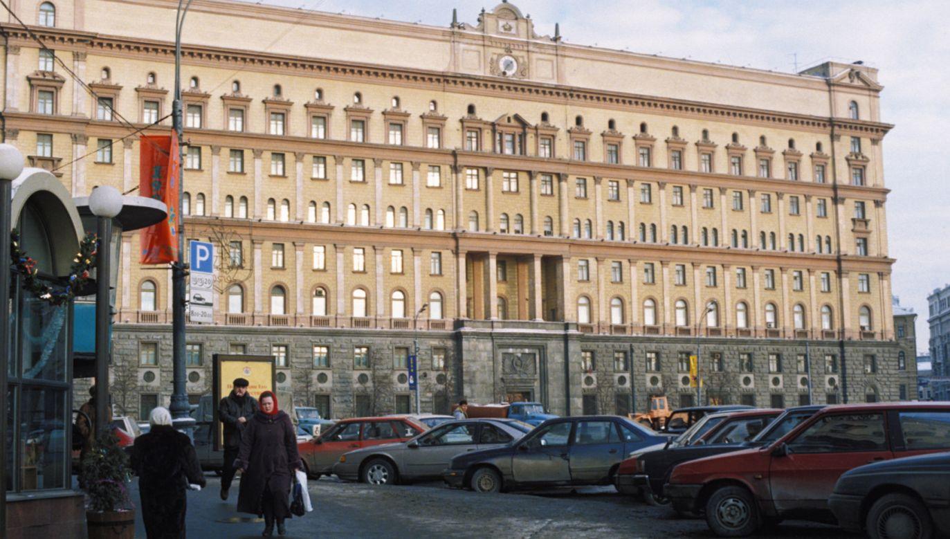 Protest zorganizowano na placu Łubiańskim w Moskwie (fot.  Sovfoto/UIG via Getty Images)