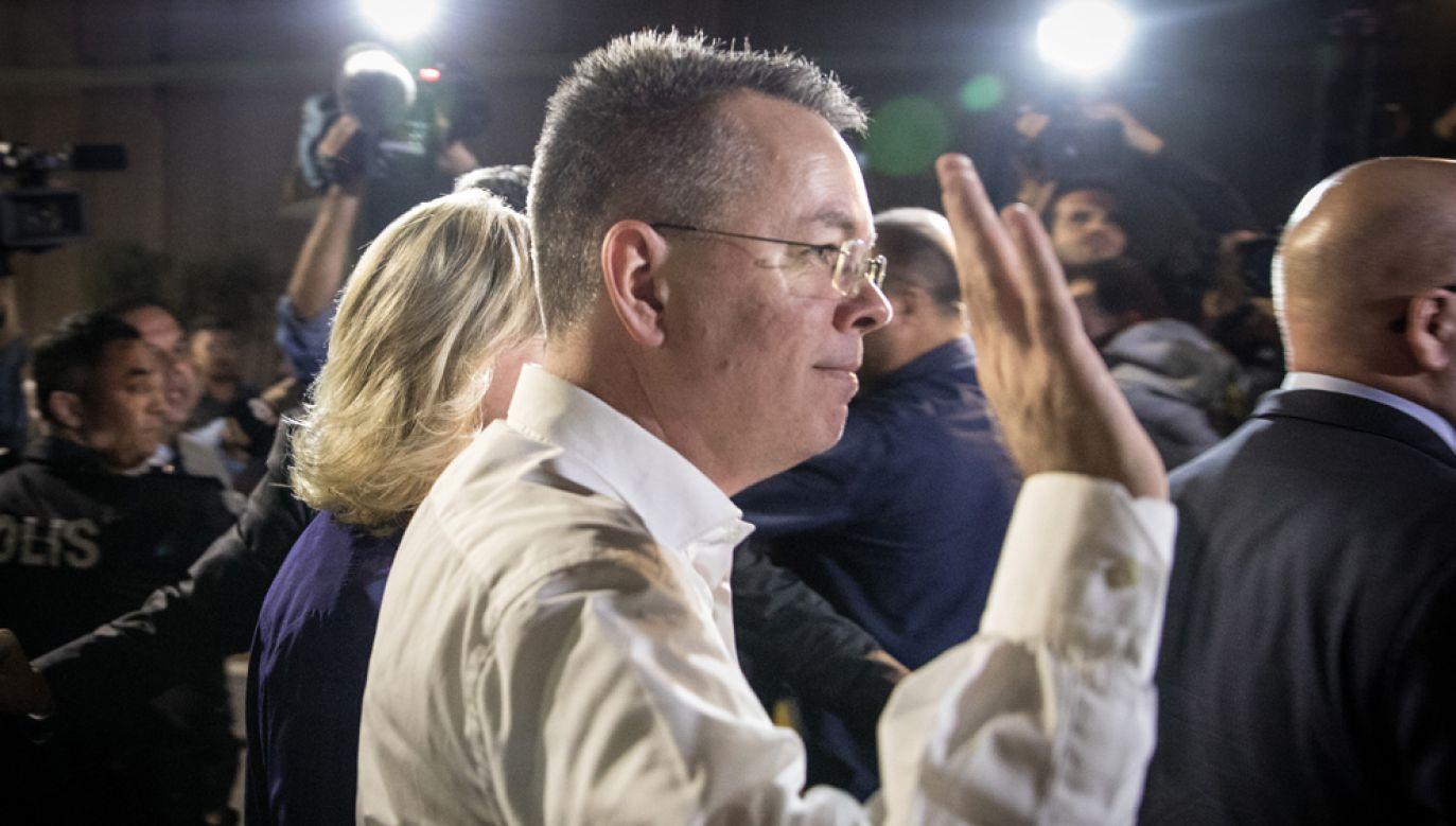 Pastor Brunson był oskarżany przez Turków o szpiegostwo (fot. Chris McGrath/Getty Images)