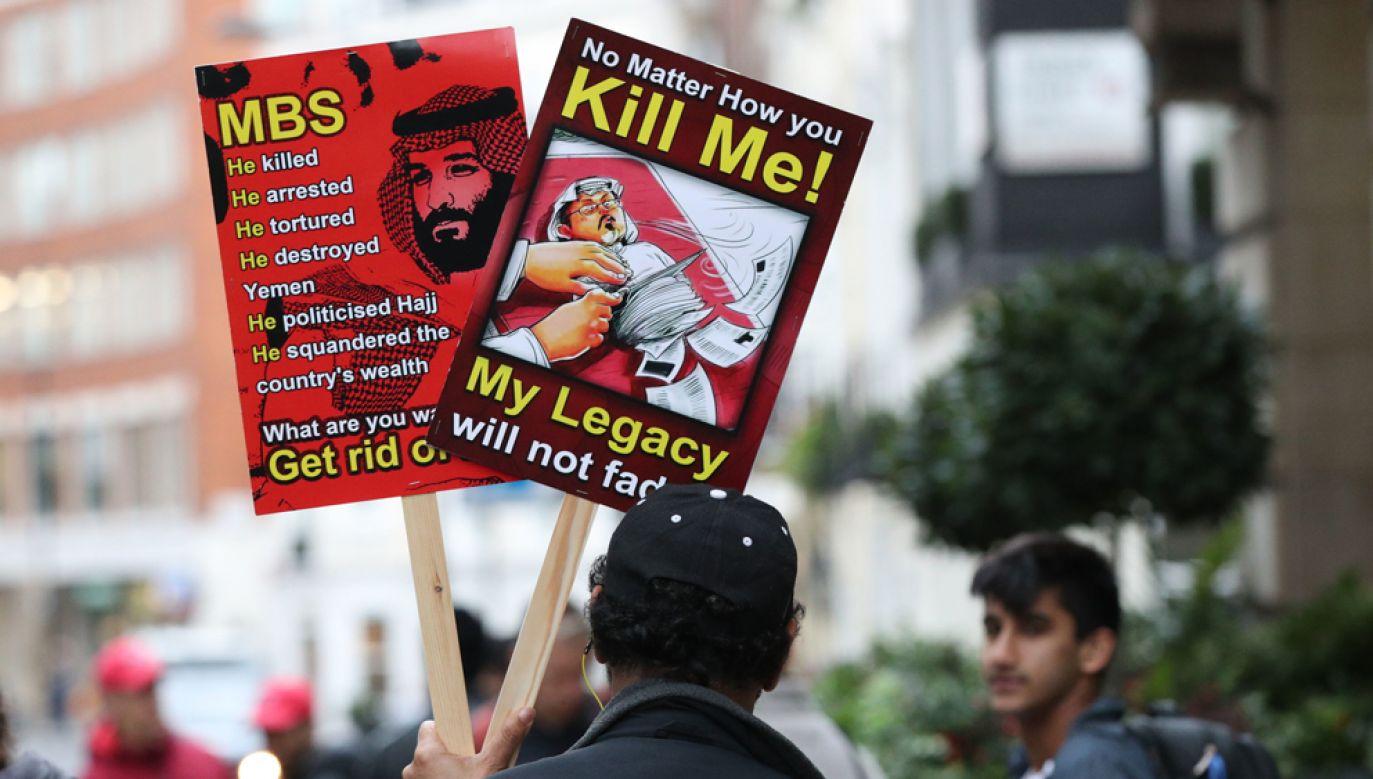 Arabia Saudyjska początkowo twierdziła, że dziennikarz bezpiecznie opuścił konsulat w Stambule (fot. Jonathan Brady/PA Images via Getty Images)