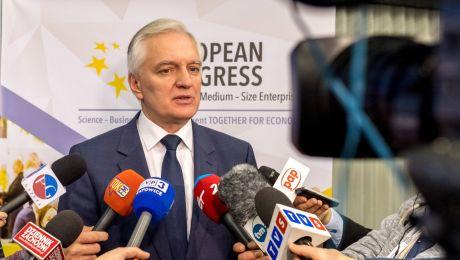 Jarosław Gowin fot. PAP/Andrzej Grygiel