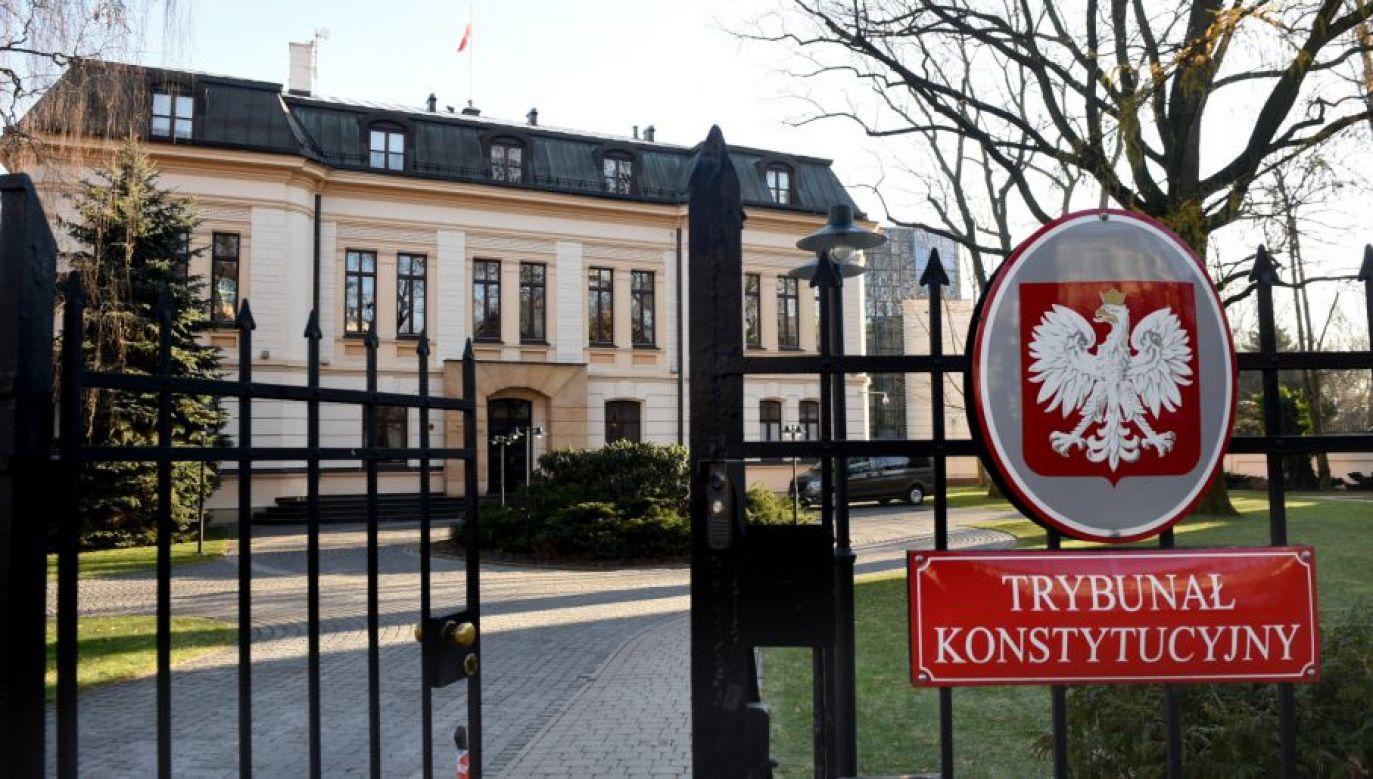 TK orzekł, że przepisy, na podstawie których Sejm dokonuje wyboru sędziów – członków KRS, są zgodne z konstytucją (fot. PAP/Radek Pietruszka)