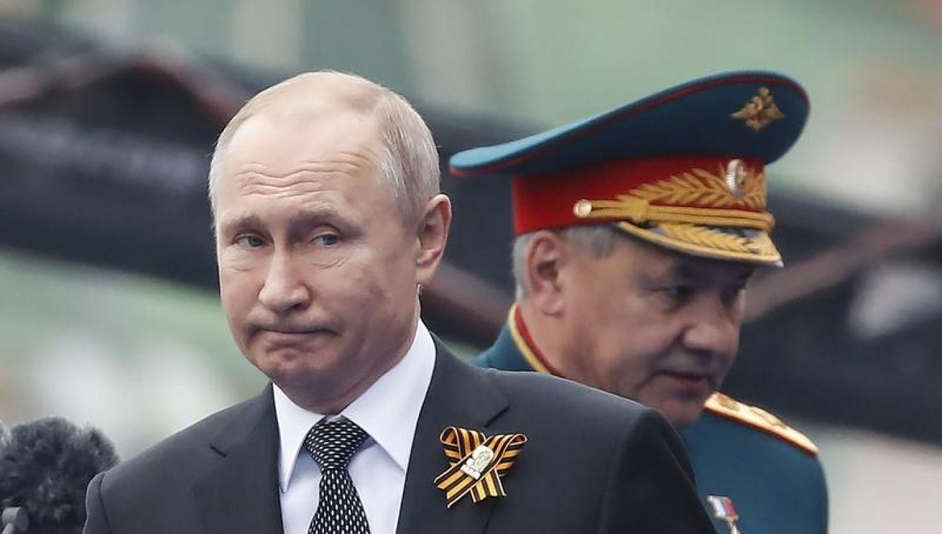 W narracji suflowanej przez Moskwę przewijają się wciąż trzy elementy (fot. REUTERS/Maxim Shemetov)