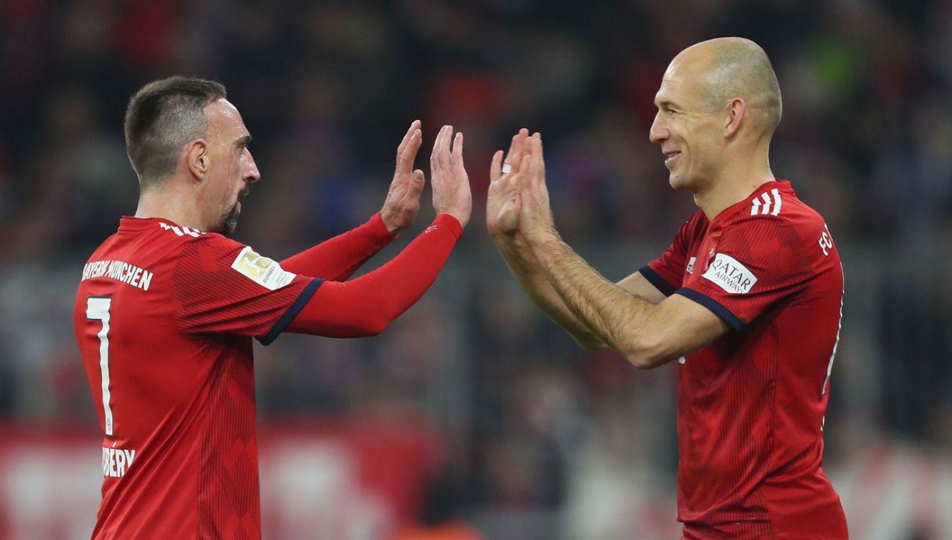 Obaj piłkarze zostaną oficjalnie pożegnani w towarzyskim meczu w 2020 roku (fot. A. Beier/Getty Images for FC Bayern)