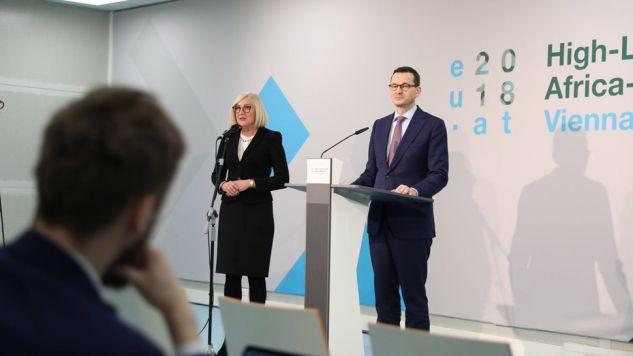 Premier Morawiecki wziął udział w Forum Afryka-Europa (fot. TT/@PremierRP)