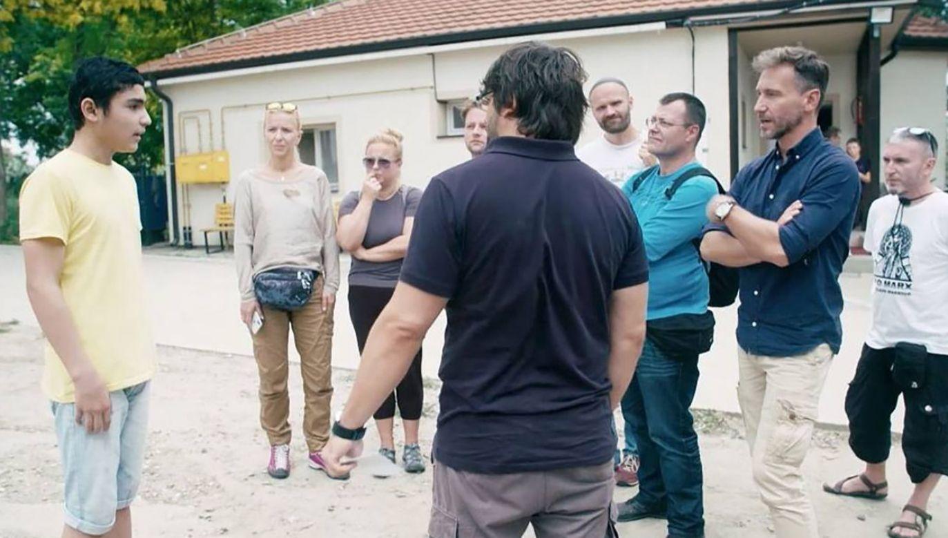 Uczestnicy programu TVN spotkali się z mieszkańcami greckiej wyspy Lesbos (fot. Materiały prasowe)