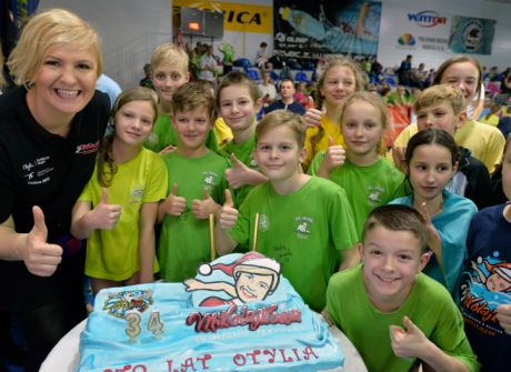 Mikołajkowa Olimpiada Pływacka