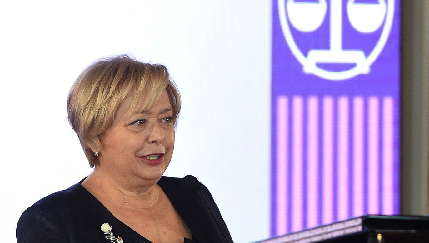 Pierwsza prezes Sądu Najwyższego - prof. Małgorzata Gersdorf (fot. arch.PAP/Radek Pietruszka)