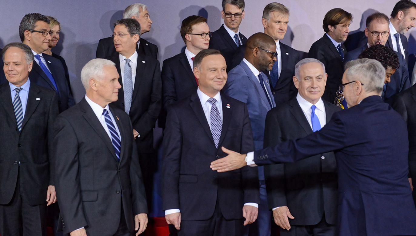 Na konferencje w Warszawie przyjechali przedstawiciele 60 krajów z całego świata (fot. PAP/Jakub Kamiński)