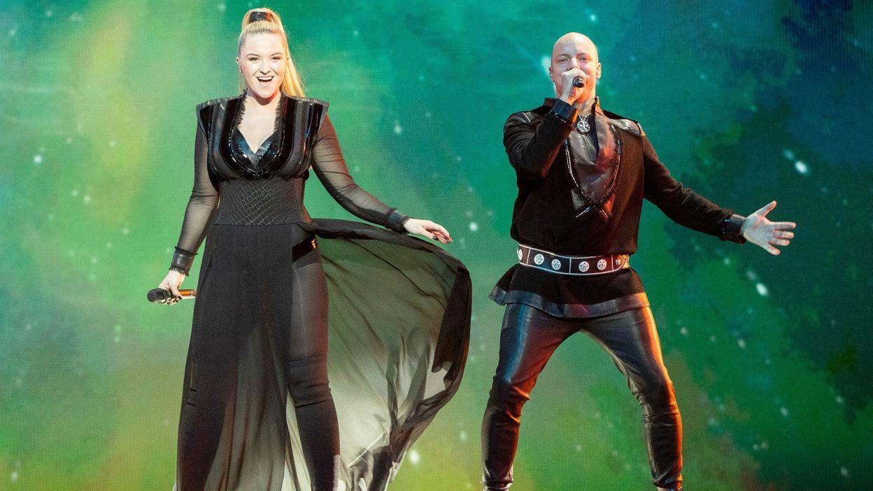 To trio z Norwegii zaprezentowało mieszankę muzyki popowej, elektronicznej, folkowej oraz tzw. joik. Europa przyjęła ich utwór z entuzjazmem, bo wygrali w głosowaniu widzów! (fot. EBU)