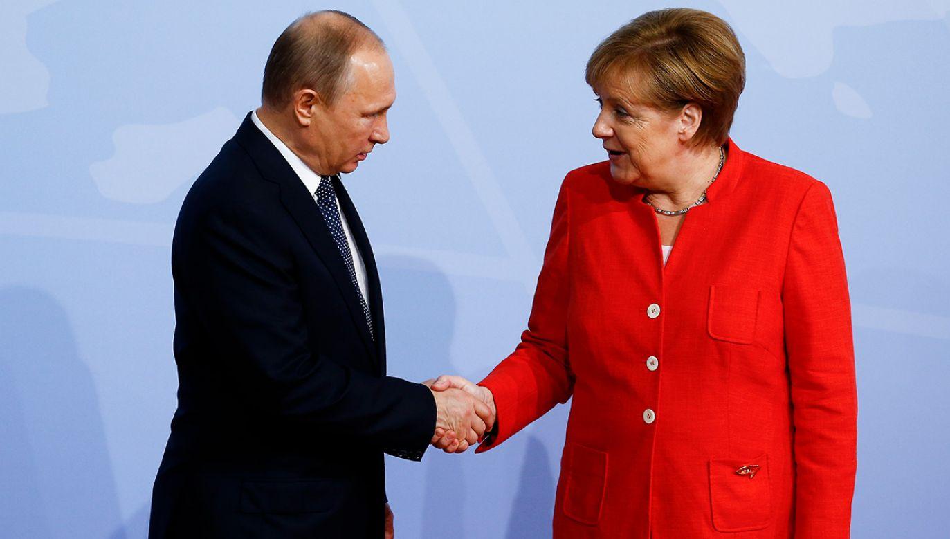 Kanclerz Merkel pogratulowała prezydentowi Putinowi zwycięstwa w wyborach (fot.Morris MacMatzen/Getty Images)