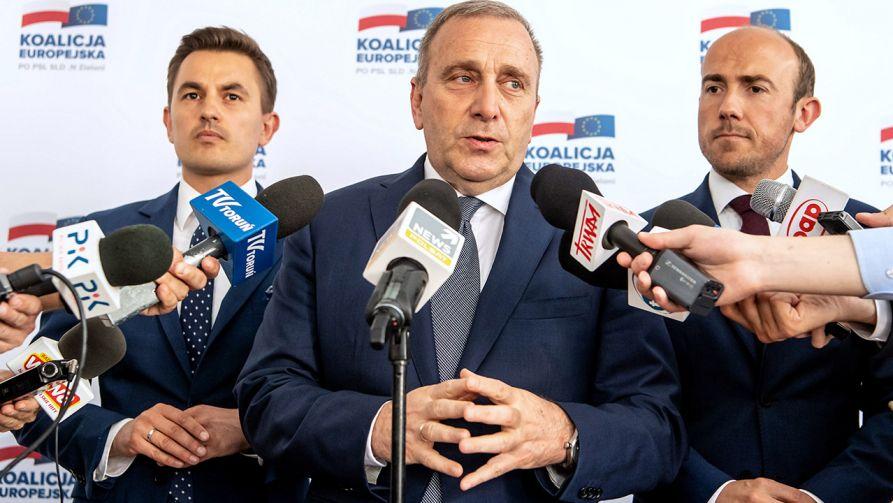 """PO złożyła wniosek o sprostowanie twierdząc, że podane przez """"Wiadomości"""" informacje były nieprawdziwe (fot. PAP/Tytus Żmijewski)"""