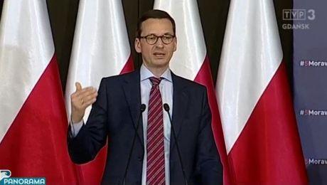 Premier Morawiecki na spotkaniu z mieszkańcami Gdańska