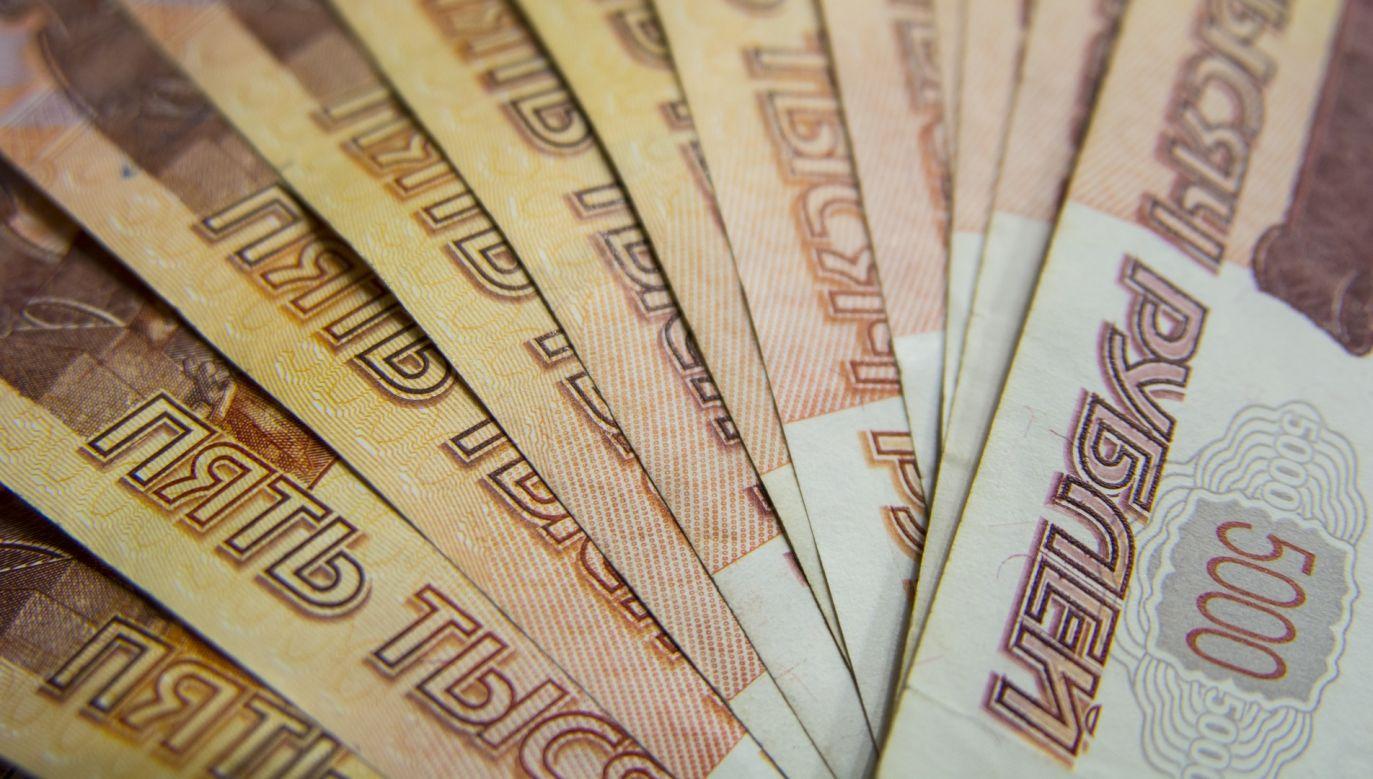 B. funkcjonariuszom FSB skonfiskowano gotówkę i kosztowności o wartości 12 mld rubli (fot. pixabay/Evgeny)