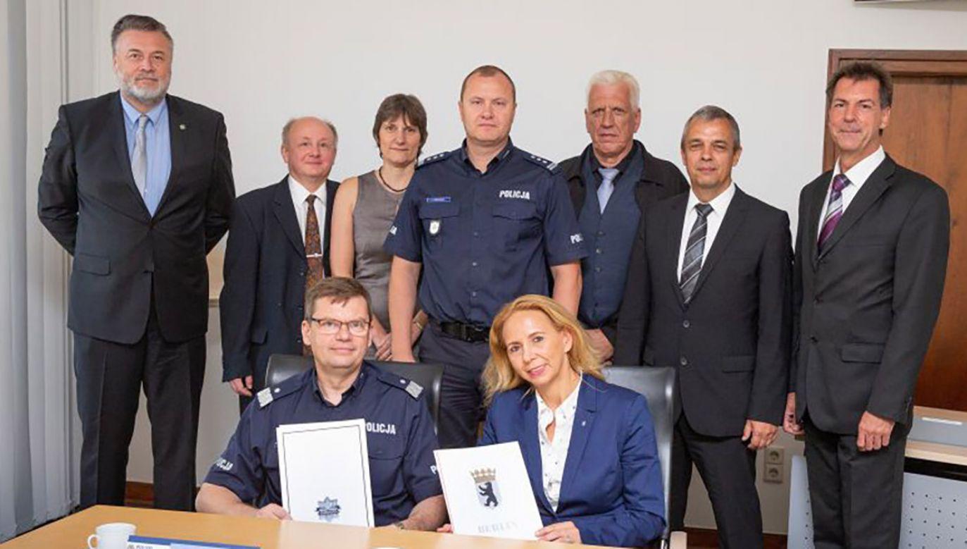 Podjęte przez polską i niemiecką Policję działania doprowadziły do ujęcia sprawców (fot. Policja zachodniopomorska)