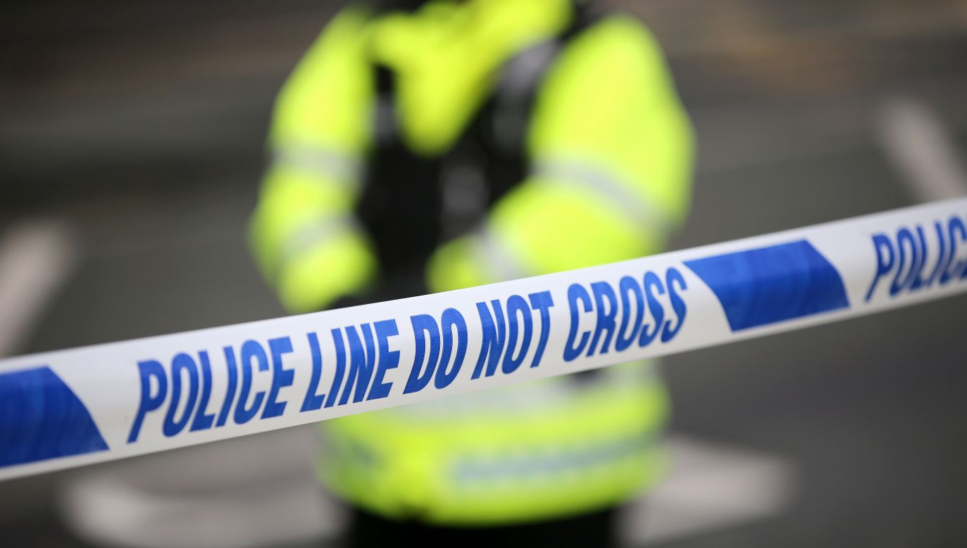 UK: Police tape cordons off a crime scene. Photo: Christopher Furlong/Getty Images