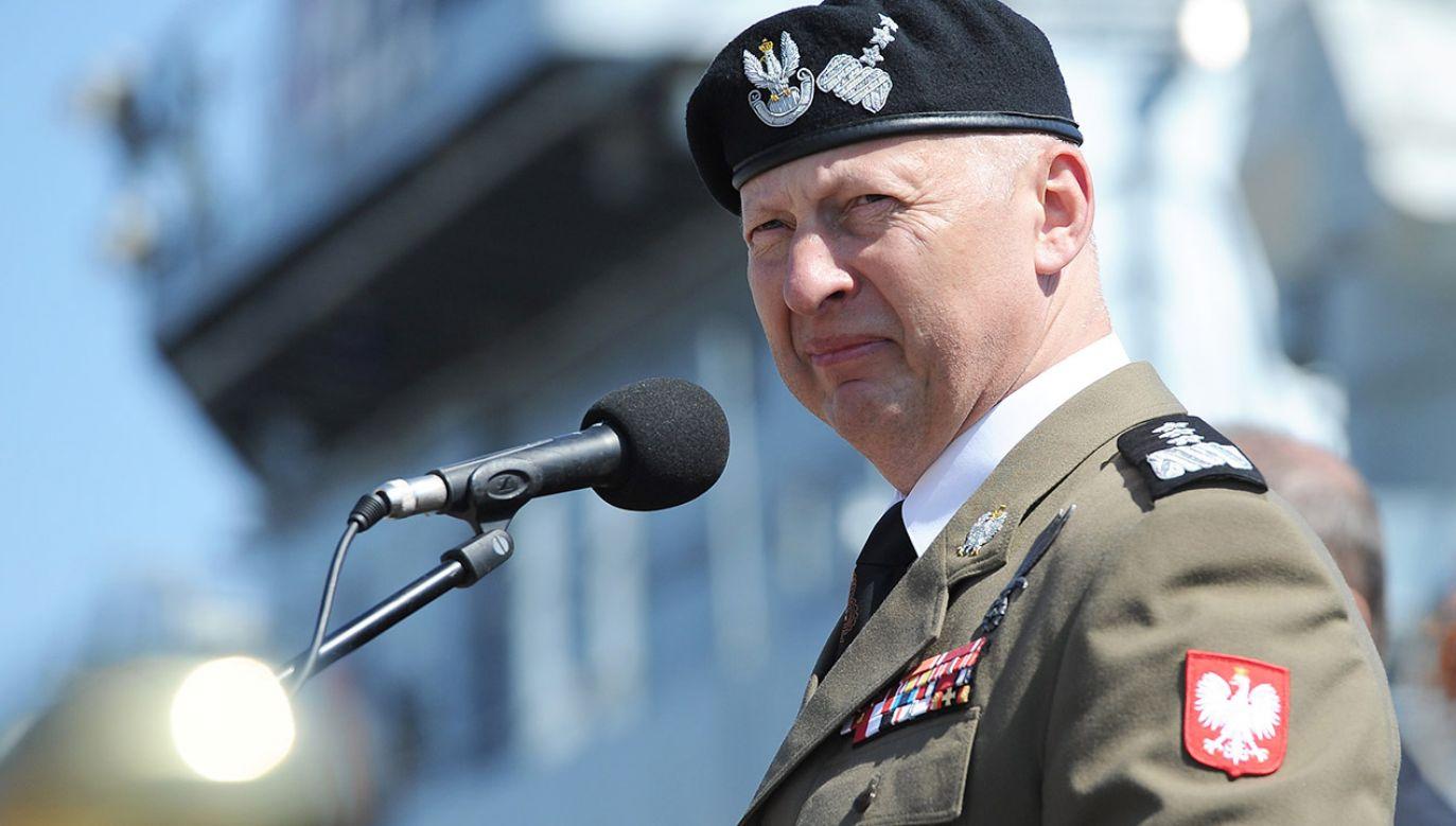 Jego zdaniem stała baza USA w Polsce da przestrzeń Rosji do łamania postanowień paryskich z 1997 r. między Rosją a NATO (fot. arch.PAP/Marcin Bielecki)