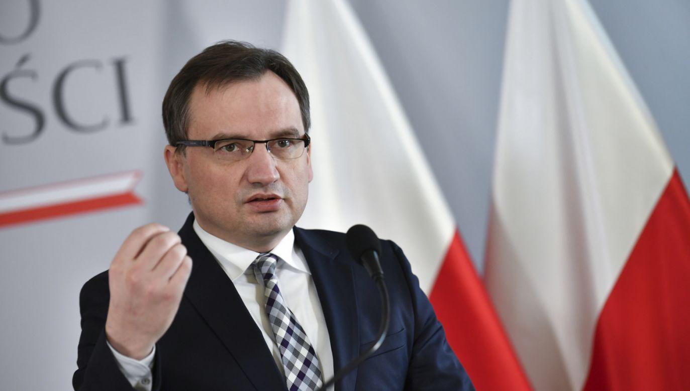 Zbigniew Ziobro (fot. PAP/Bartłomiej Zborowski)