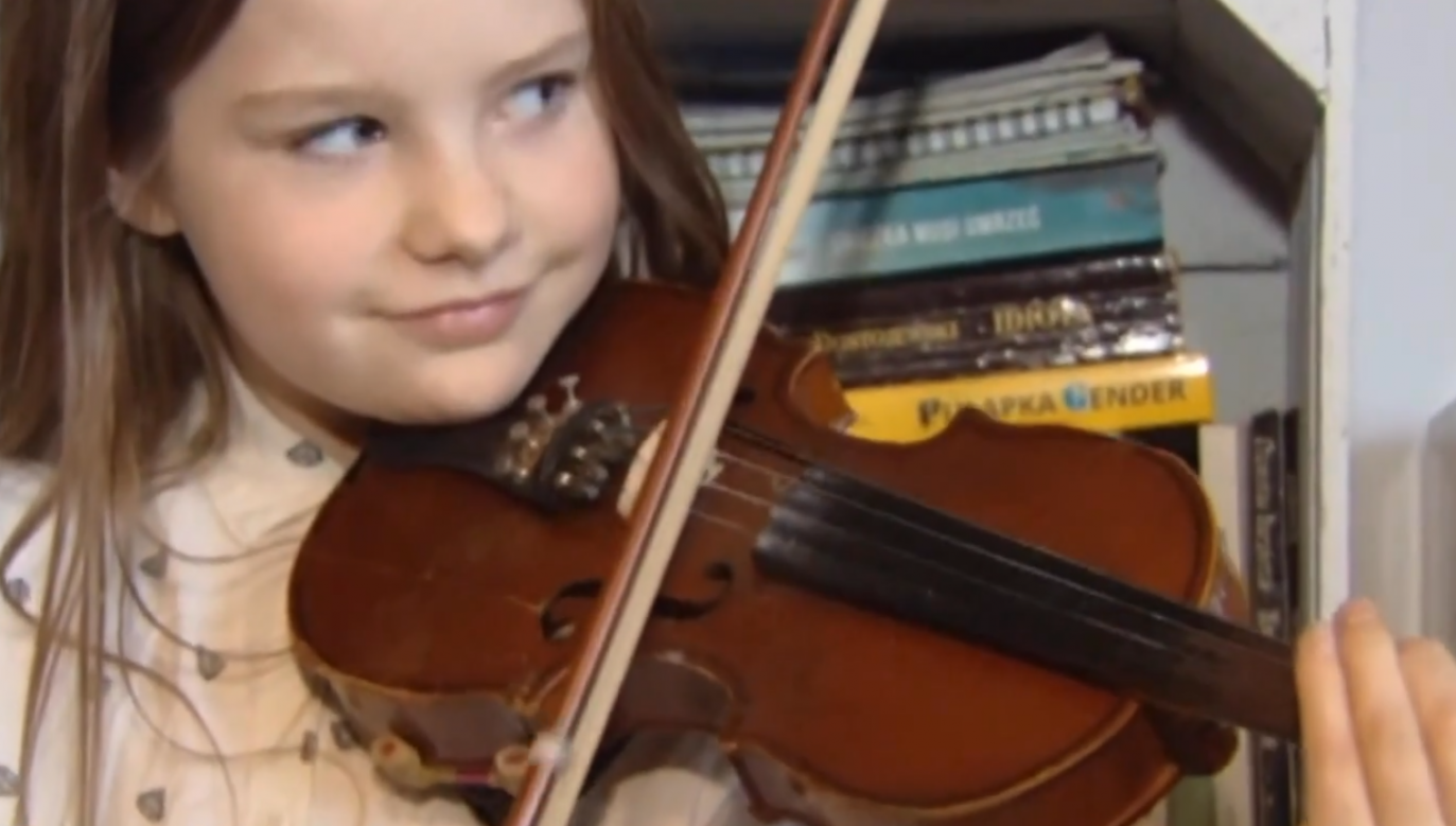 The organisation has been providing help to a family of eight musically talented children for a total time of eight years. Photo: Poland In