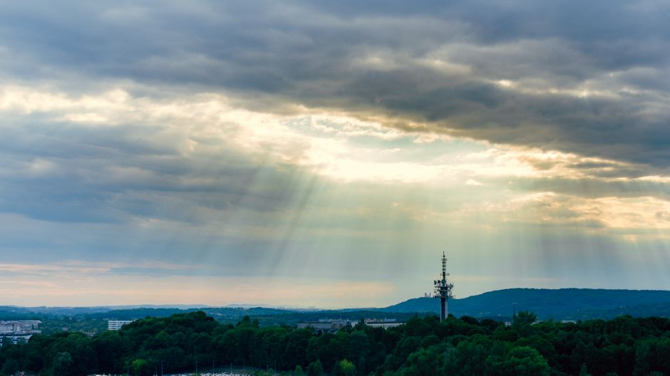Portal nad stacją, fot. Tomasz Trulka