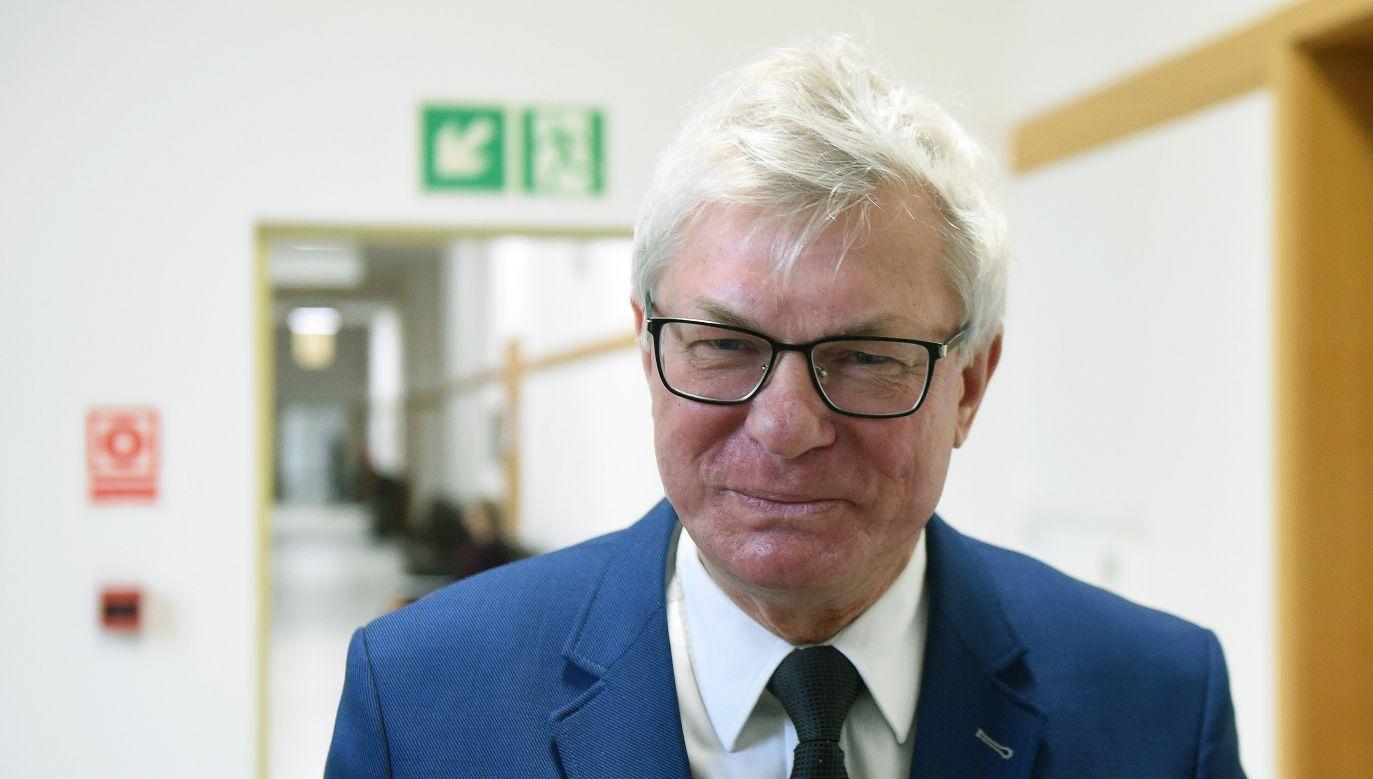 Andrzej Celiński. Photo: PAP/Radek Pietruszka