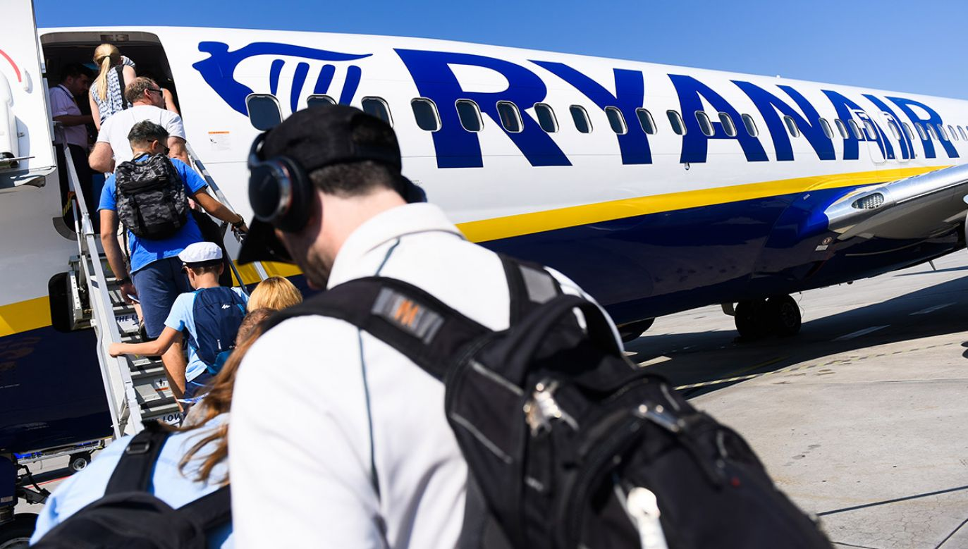 Obsługa samolotu nie zauważyła pomyłki (fot. Omar Marques/SOPA Images/LightRocket via Getty Images)