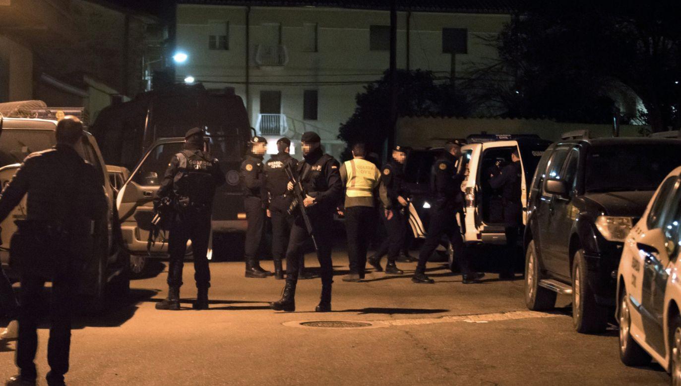 Do strzelaniny, w której zginęły trzy osoby, doszło w czwartek (fot. PAP/EPA/ANTONIO GARCIA)