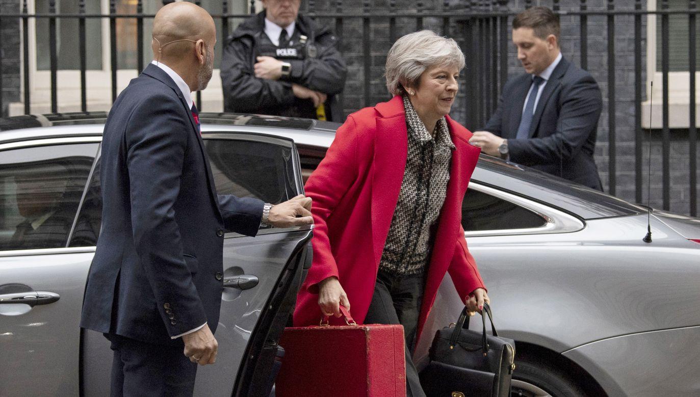Premier może grozić votum nieufności – ostrzegają brytyjskie media (fot. PAP/EPA/Will Oliver)