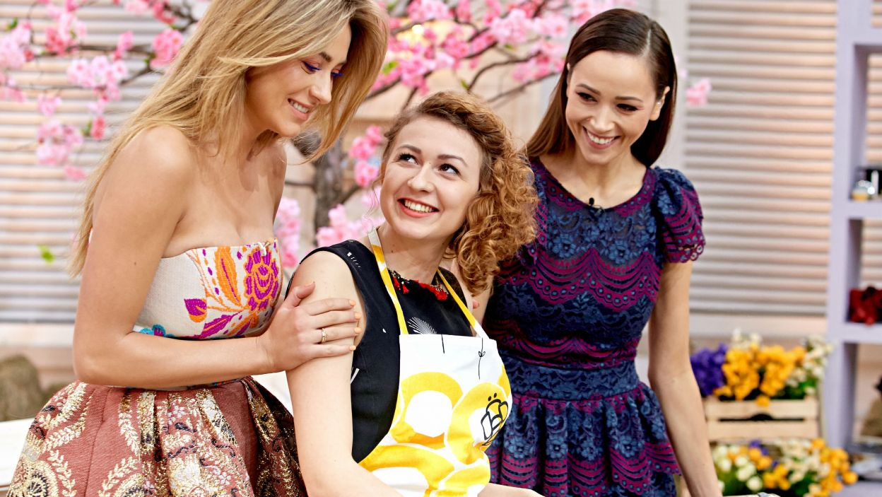 """W """"Bake Off – ale ciacho"""" jedno jest pewne: na pomoc Doroty i Marceliny zawsze można liczyć (fot. TVP)"""