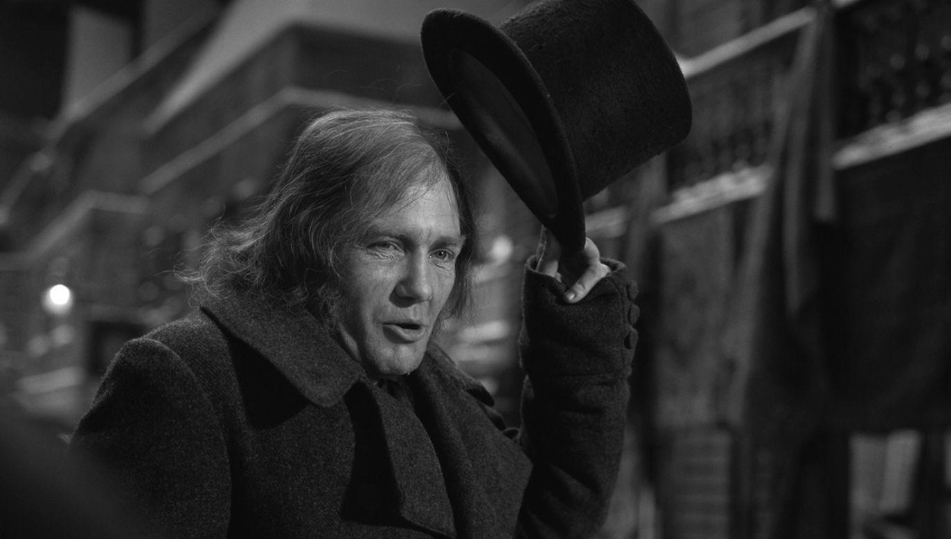 """Albert Finney w adaptacji """"Opowieści wigilijnej"""" Charlesa Dickensa (fot. Fox Photos/Hulton Archive/Getty Images)"""